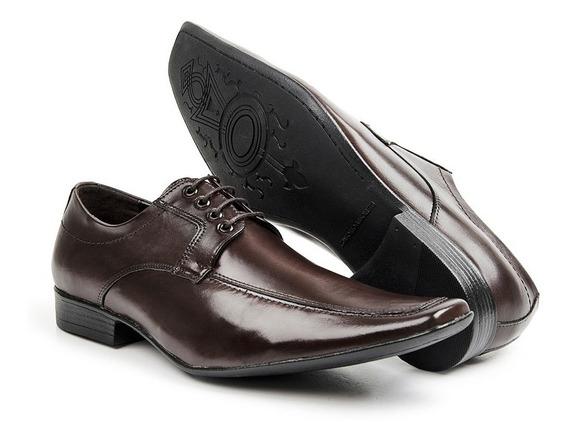 Sapato Masculino Em Couro Legítimo Social Bico Fino Promoção