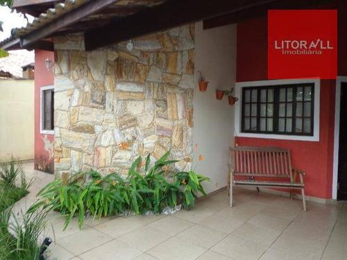 Imagem 1 de 23 de Casa Com 3 Dormitórios À Venda, 125 M² Por R$ 490.000,00 - Cibratel Ii - Itanhaém/sp - Ca0393