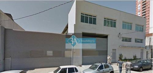 Galpão À Venda, 2800 M² Por R$ 10.000.000,00 - Mooca - São Paulo/sp - Ga0032
