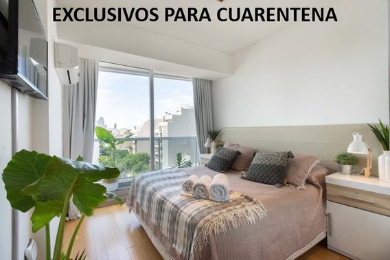 Departamento Palermo 100% Equipado - Para Cuarentena