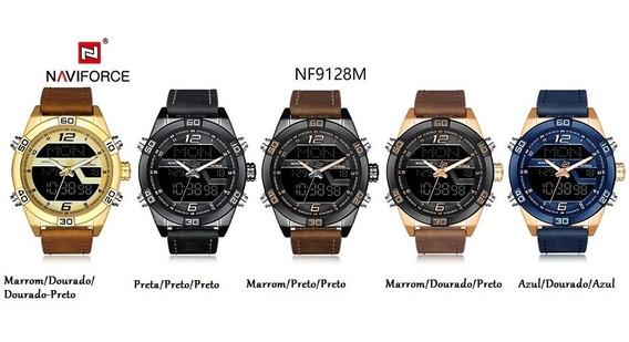 Relógio Militar / Esportes Ana/ Digital Naviforce Nf9128