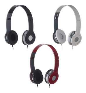 80 Fones De Ouvido Estéreo Articulável, Protetor Em Couro