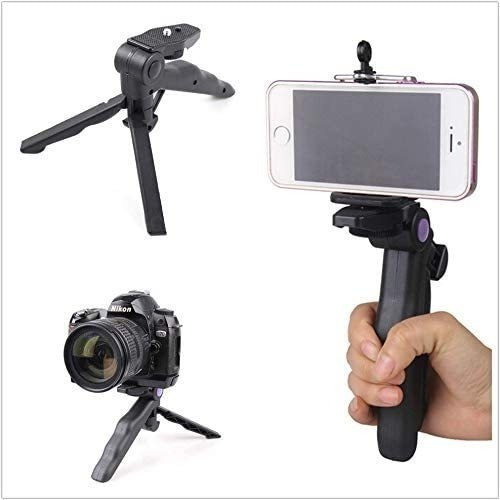Suporte E Mini Tripe P/ Celular E Camera