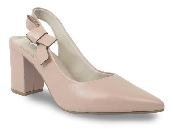 Sapato Scarpin Via Marte Com Nó 19-7204
