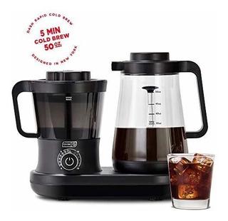 Dash Dcbcm550bk Cafetera De Preparación Fría Con Caño Fácil