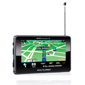 Gps Automotivo Multilaser Tracker Gp034 Tela 4.3 Polegadas T