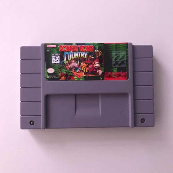 Donkey Kong Country Snes Original Super Nintendo