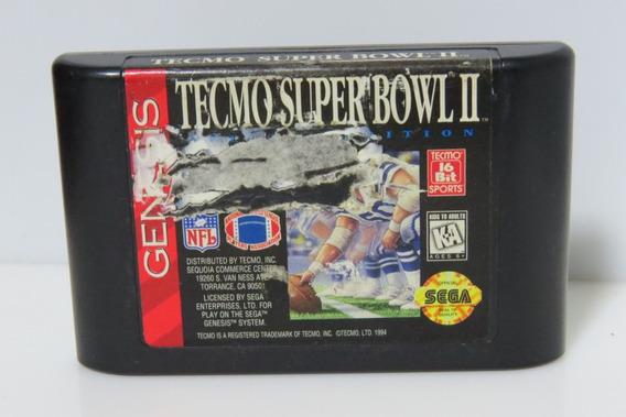 Tecmo Super Bowl Ii Original Sega Genesis Mega Drive Fita