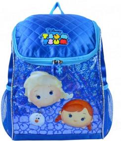 Mochila Infantil Escolar Frozen Elsa Anna Is32364ts + Nfe