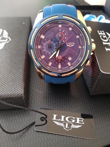 Relógio Lige 9957 Movimento Quartzo