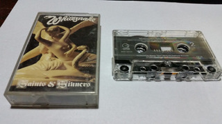 Whitesnake Saints & Sinners Cassette Usa