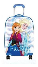 Mala De Bordo Pequena Frozen Anna E Elsa Luxcel- 54053