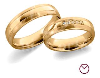 Argollas Matrimonio Oro 18 Kilates