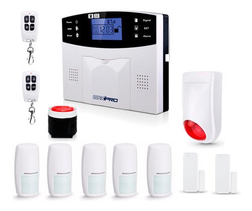 Imagen 1 de 10 de Alarma Casa Inalambrica Kit3 Gsm 3g, Completa, Comercio Oy