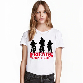 Camisa Stranger Things Feminina- Friends Don