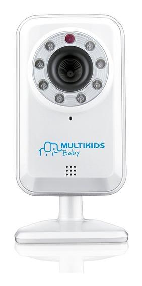 Babá Eletrônica Ip Wireless Plug And Play Branca Bb209