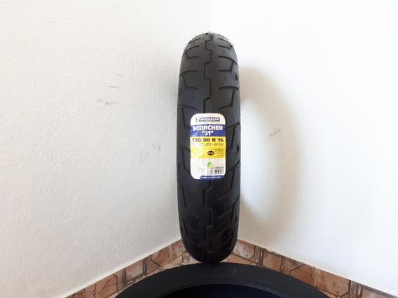 Pneu 130/90 B16 Michelin Scorcher 31 Fat Bob 1200 Custom