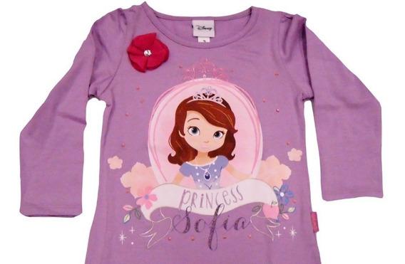 Playera Infantil Princesita Sofia Originales Marca Disney