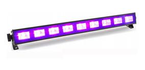 Ribalta Led Luz Negra Uv Efeito Neon 50cm 9 Leds