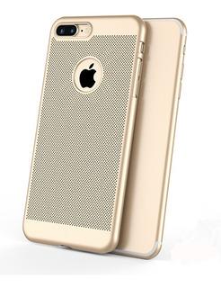 Funda Slim Rejilla Ventilación Semi Rígida iPhone