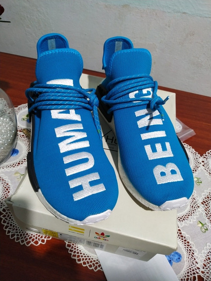 adidas Nmd Human Race Blue Original Size 43 Br 11 Us