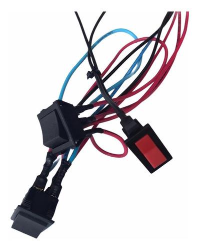 Cableado Electrico 12v Ficha Auto A Bateria Niños Colocacion