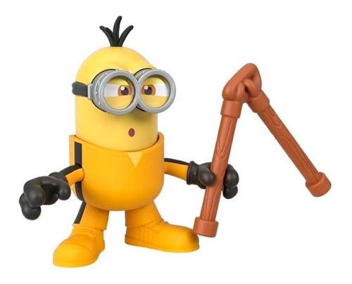 Imaginext Figura Básica Minions Kevin Com Nunchaku - Mattel
