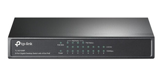 Switch Tp Link 8 Ports Gigabit Con 4 Puertos Poe Tl Sg1008p