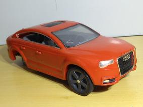 Projeto Miniatura Audi A5 Artesanal Em Madeira Diorama Leia