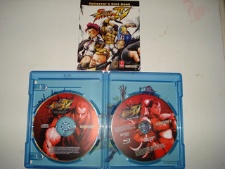 Street Fighter Iv The Ties That Bind Bluray Edicion Especial