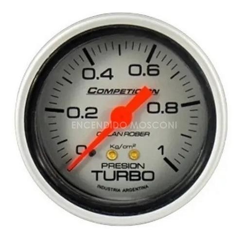 Imagen 1 de 8 de Presion De Turbo Orlan Rober Competicion Mecanico 60 Mm