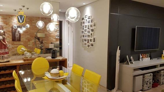 Lindíssimo Apartamento 2 Dormitórios À Venda, 72 M² Por R$ 310.000 - Centro - Itupeva/sp - Ap1242
