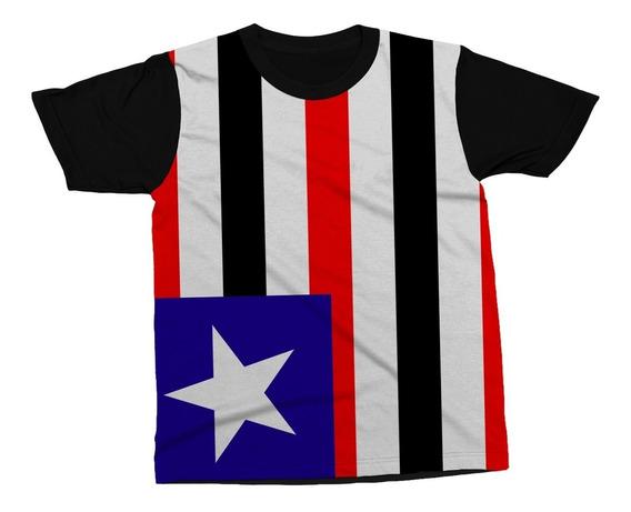 Camiseta Maranhão Estado Brasil Bandeira Blusa Camisa