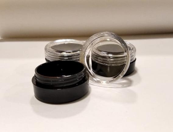 Envases Circulares Tapa A Rosca Deco Uñas X 12u.