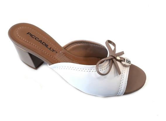 Zapato Mujer Piccadilly Zueco Taco 5cm Moño
