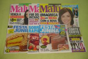 Lote Com 3 Revistas Malu + Receitas Culinária - Lote 56