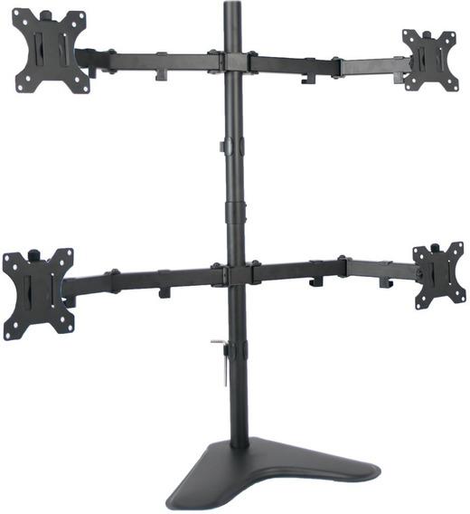 Suporte Para 4 Monitores De Mesa Articulado 15 A 32 V48n Elg
