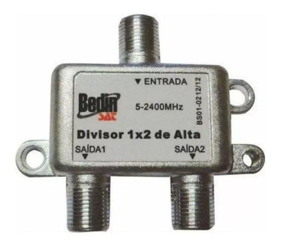Kit 10 Divisor 1:2 Alta Satélite 5-2400mhz Banda C Banda Ku