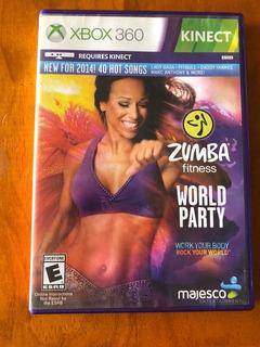 Zumba Fitness World Party Xbox 360 Kinect