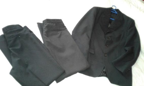 Ambo Hombre Saco Y Dos Pantalones