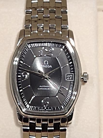 Relógio Omega De Ville Prestigie Co-axial 45035100 Raridade
