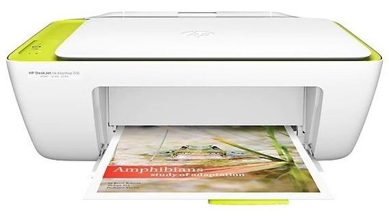 Impressora Hp Multifuncional Jato De Tinta Adv 2136