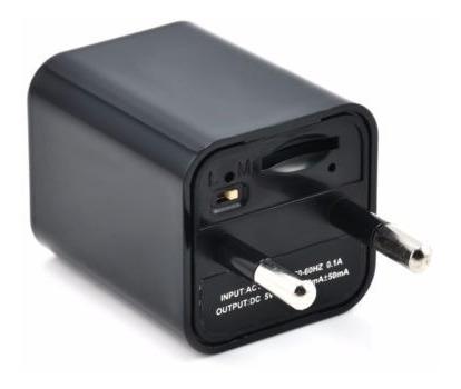 Camara Espia En Cubo Cargador Full-hd1080p