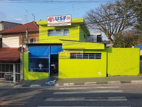 Sobrado Comercial À Venda, Cidade Soinco, Guarulhos - So0198. - Ai824