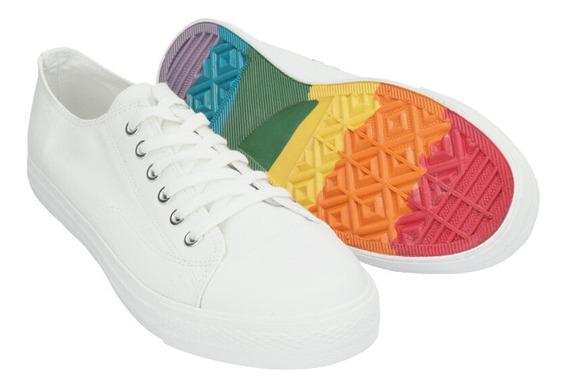 Tenis De Hombre C&a Suela Multicolor