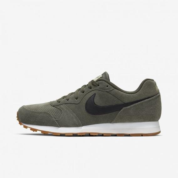 Tênis Nike Md Runner 2 Suede Masculino Original + Nf