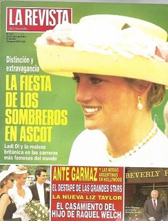 La Revista Del Mundo_lady Di_diana: Fiesta Sombreros Ascot