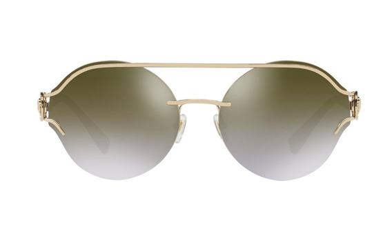 Lentes De Sol Versace Ve2184 12526u Negro/oro Unisex Origina