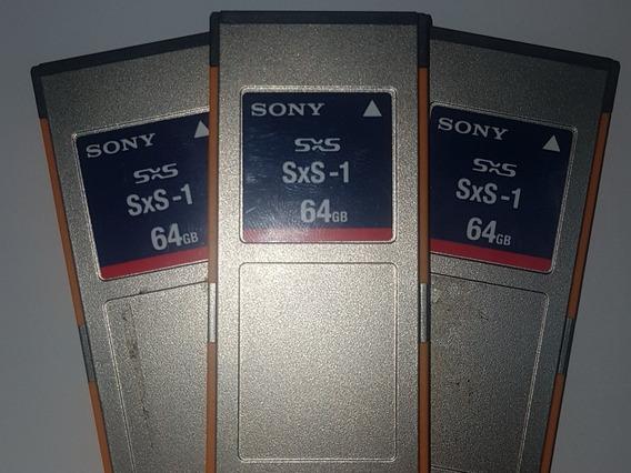 Memória Sony 64gb Sxs-1 (sbs-64g1a) Usado