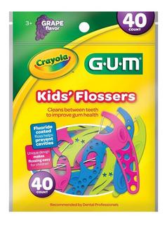 Seda Dental Gum Kids Flossers Crayola X 40und
